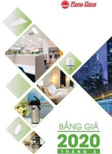 Catalogue Bang Gia Den Led Rang Dong